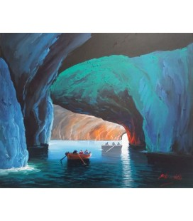 CAPRI - BLUE GROTTO 19,68 X 15,74
