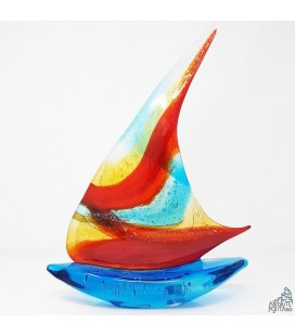 """""""SAIL BOAT"""" RED"""
