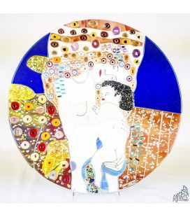 "PLATE ""KLIMT - THE THREE AGES OF WOMAN"" Ø 19,68"