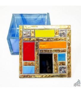 "JEWELLERY BOX ""COLOR/GOLD"""