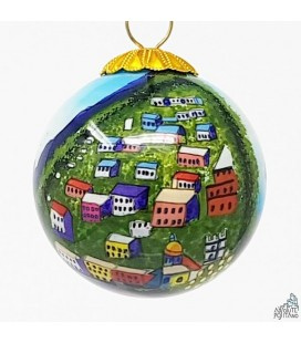 "CHRISTMAS ORNAMENT ""POSITANO DAY TIME"" MINI"