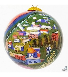 "CHRISTMAS ORNAMENT ""POSITANO SUNSET TIME"""