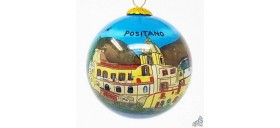 "CHRISTMAS ORNAMENT ""POSITANO SEA VIEW"""