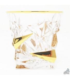 "GLASS ""POSITANO"" GOLD"